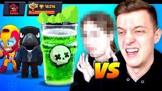 Brawl Stars EKEL DRINK Duell! 🤢 Lukas VS Freundin! | Brawl Stars deutsch