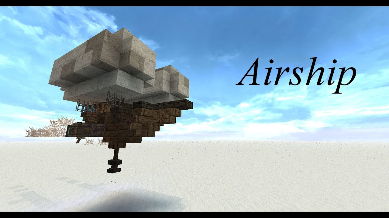 how to make an airship
