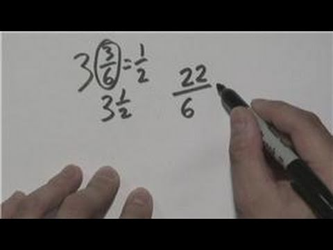Mathematics : Reducing Mixed Fractions to the Lowest Terms