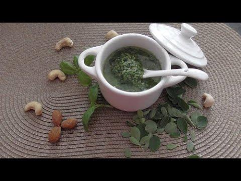 Pesto & Pastasaus van Moringa blad