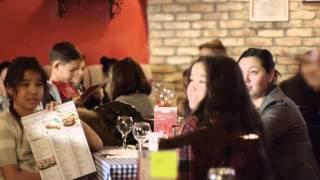 Добрый Вечер совместная акция AB Restaurants и ОФ ДОМ в Del Papa(