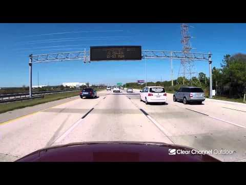 Billboard Video Ride: Digital Bulletin #3: I-275 and Gandy Blvd