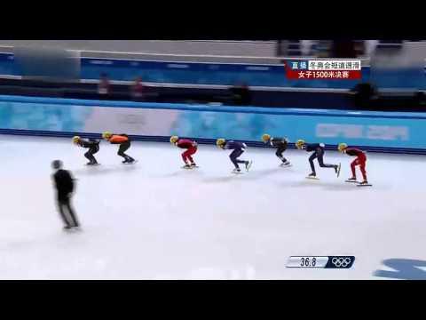 """GCTV第六期:""""女子1500米短道速滑""""解说"""