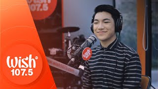 "Darren Espanto performs ""Sasagipin Kita"" LIVE on Wish 107.5 Bus"