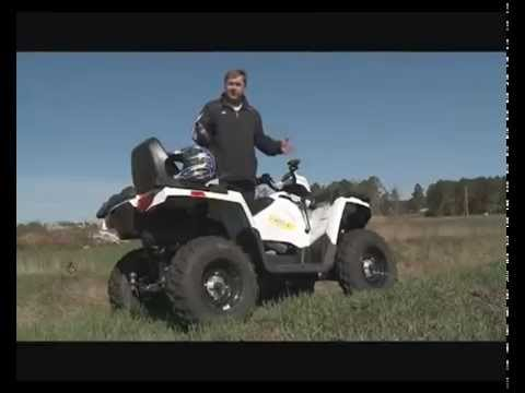 Тест-драйв квадроцикла Polaris Sportsman 570 EFI Touring и мотовездехода Polaris Ranger 570 EFI