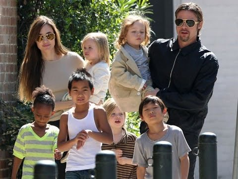 Angelina Jolie And Brad Pitt Adopted Children  History 2017 Unknown Fact