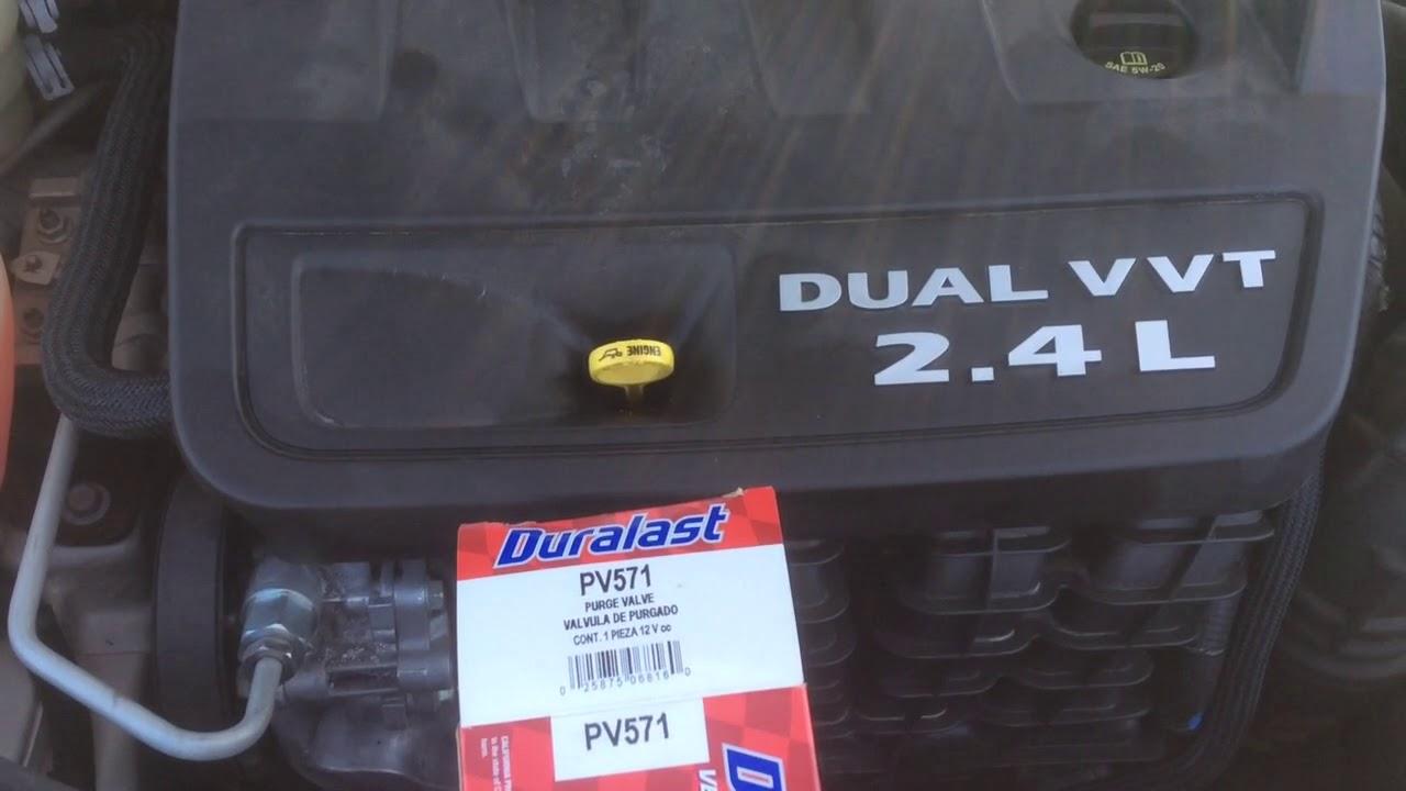 2012 Chrysler 200 Purge Valve Location