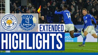 Leicester City 2 Everton 1 | Extended Highlights | 2019/20