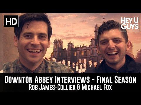 Rob JamesCollier & Michael Fox Exclusive   Downton Abbey