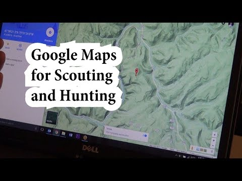How To Use Google Maps For Scouting And Hunting