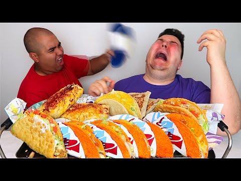 Taco Bell With Orlin • MUKBANG