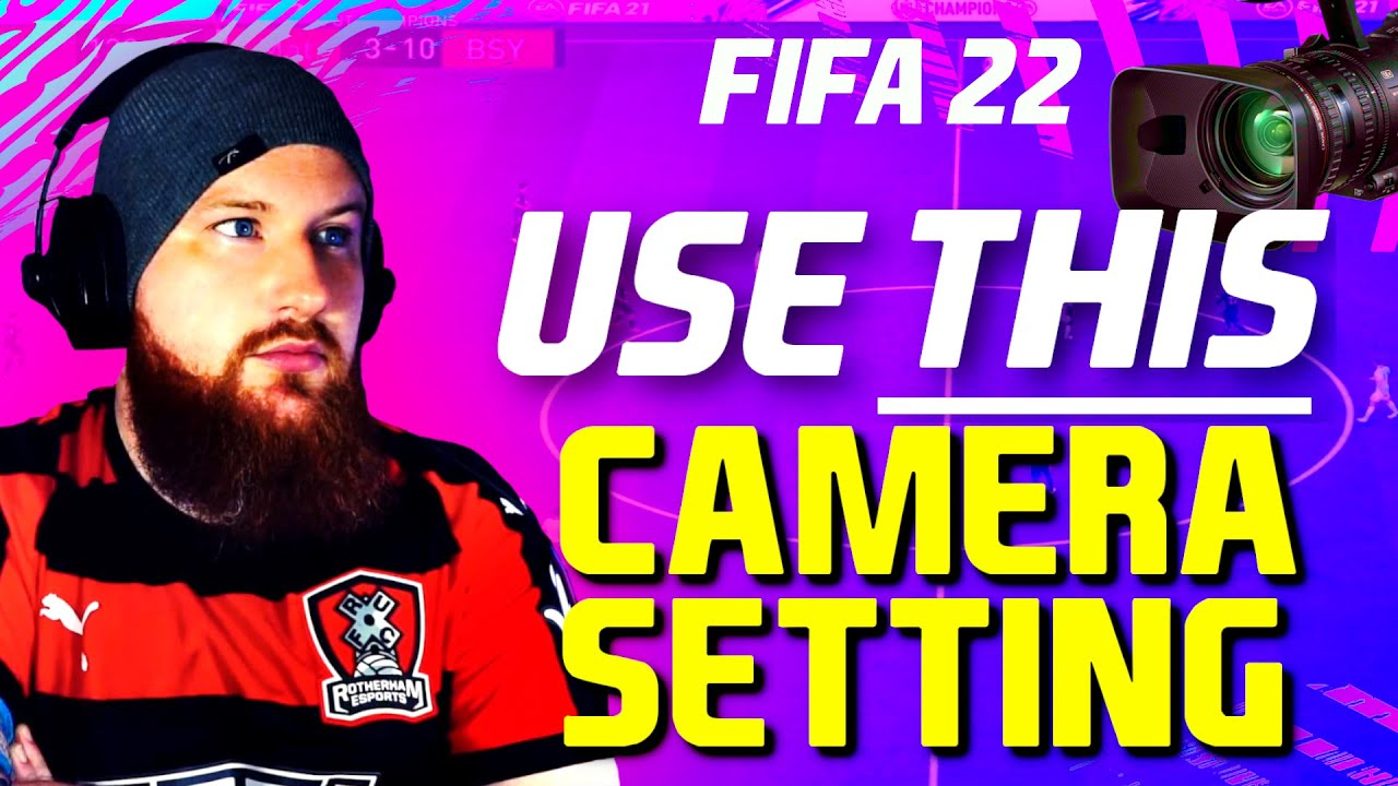 FIFA 22: Best Camera Settings & Game Settings - USE THIS To Improve Your Gameplay #FUT22