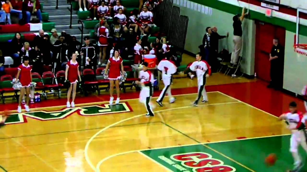 Lincoln Railers basketball game - YouTube