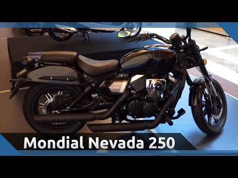 2019 Mondial Nevada 250 - V Twin Motorlu Cruiser
