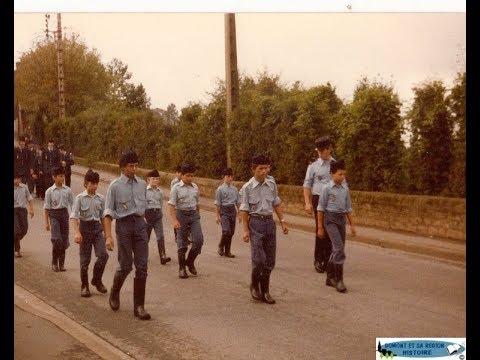 Foire de Domont 1981 la fanfare des jeunes sapeurs pompiers