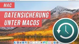 Datensicherung mit Time Machine unter macOS