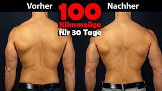 100 Klimmzüge am Tag für 30 Tage! Das Experiment