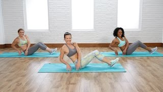 5-Minute Lower-Abs and Obliques Workout | Class FitSugar