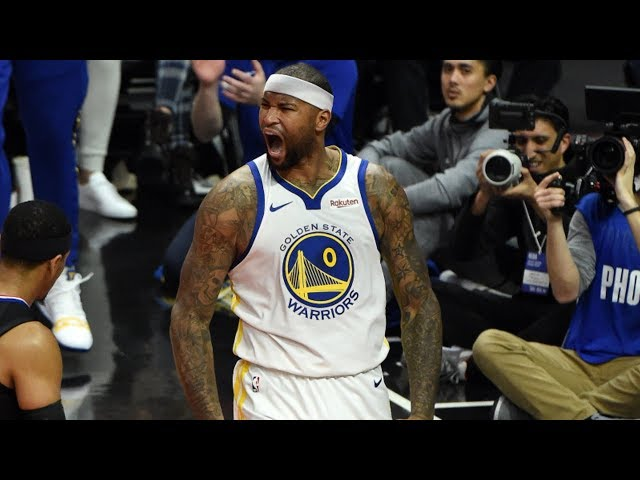 DeMarcus Cousins Warriors Debut vs Clippers! 2018-19 NBA Season