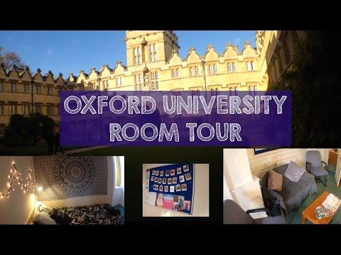 MT6: Oxford University Room Tour + MEETING STEPHEN HAWKING!!