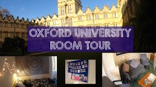 MT6: Oxford University Room Tour + MEETING STEPHEN HAWKING!!