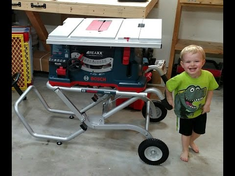 Bosch REAXX Table Saw Review and Comparison - Flesh Sensing Technology