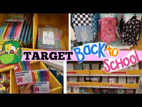 TARGET BACK TO SCHOOL SHOPPING 2019/ COME WITH ME
