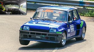 Renault 5 Turbo CRAZY Driving || ONBOARD Group B Monster