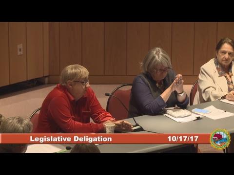 Legislative Delegation Subcommittee 10.17.17