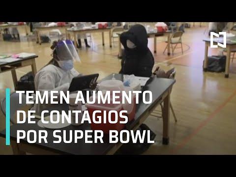 COVID-19: Autoridades en EE.UU. temen incremento de casos por Super Bowl - Las Noticias
