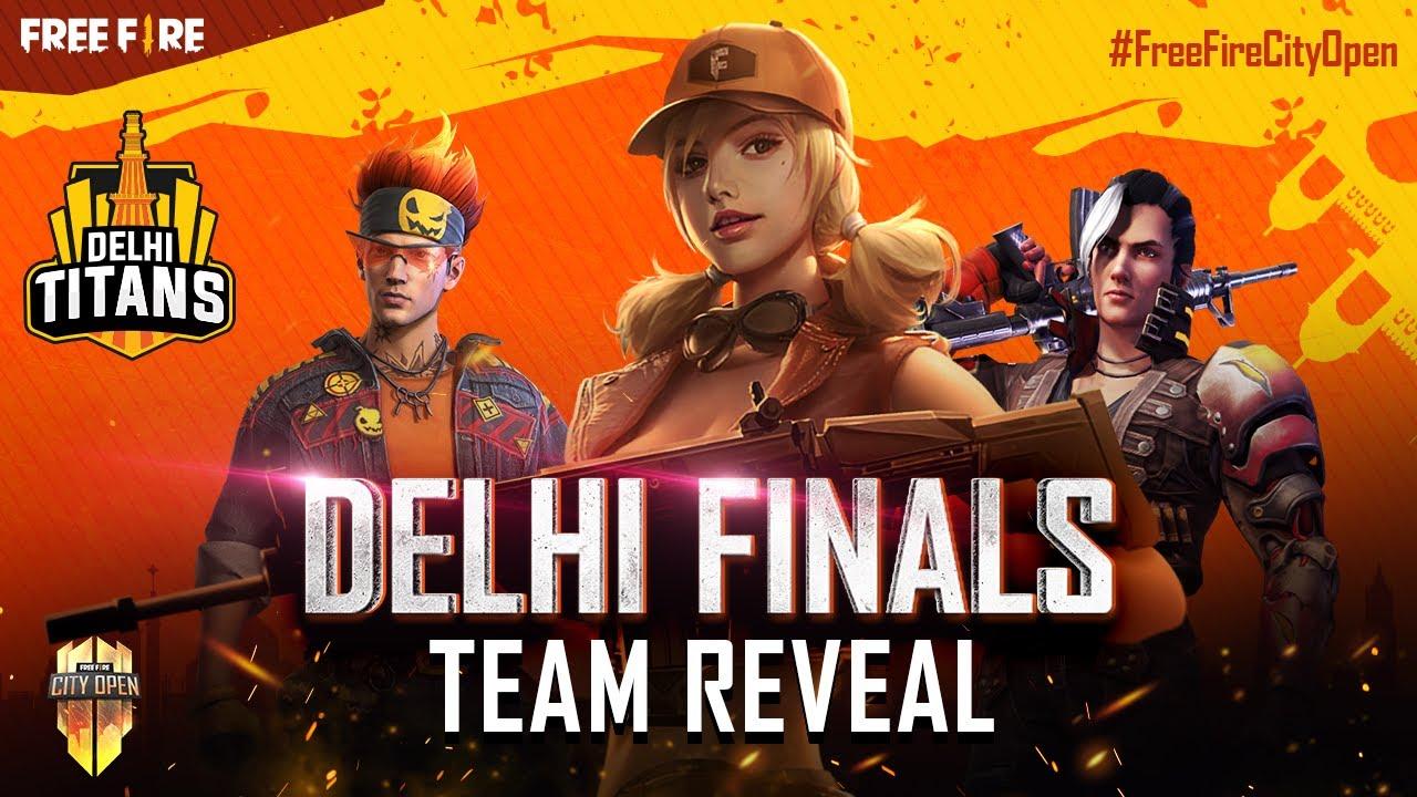 FFCO Delhi Finals Team Reveal | Free Fire City Open