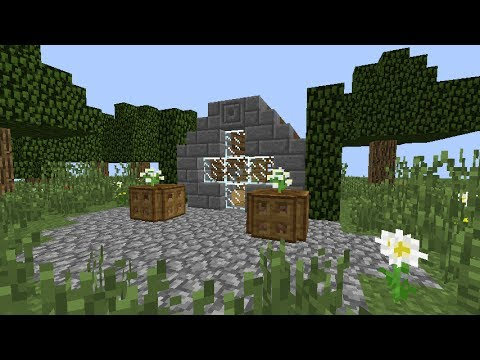 The Minecraft Build Book Page Rustic Beginner House