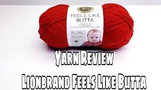 Lion brand Yarn | Feels like butta Yarn Reviews Crochet | Bag O Day Crochet screenshot 4