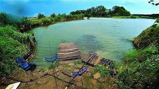 Рыбалка на ФИДЕРА в ШТОРМ и ГРОЗУ.(НЕИЗДАННОЕ)
