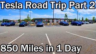 1,700 Mile Road Trip in the Tesla Model 3 - Part 2