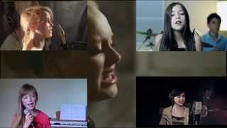 Adele - Rolling in the deep ft Connie Talbot, Maddi Jane, Vazquez Sounds, Noelle