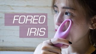tinhtevn - tren tay may massage mat foreo iris