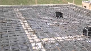 СК Ситируф:Строительство домов из газобетона.Плита перекрытия.Армирование плиты(СК Ситируф ведет строительство из газобетона. Смета на дом рассчитывается за 5 дней. Проекты домов из газобе..., 2014-06-20T10:42:12.000Z)