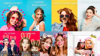 Sweet Snap Face Cam - Selfie Edit & Photo Filters || Camera App 2021 || How To Use FX screenshot 5
