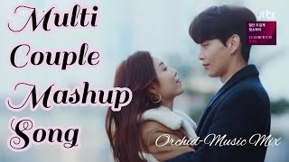 Old to New Bollywood Songs Cover Mashup | Korean Chinese Mix | Multicouple Love Song