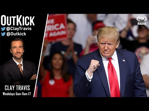 President Donald Trump joins Clay Travis: Return of Pro Sports, NBA-China, Biden VP pick, and CFB