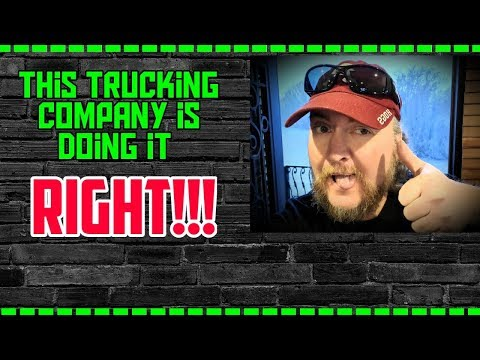 This Trucking Company Is Doing It RIGHT!