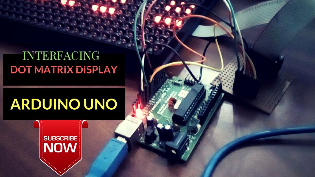 How To Interface Dot Matrix Display Dmd With Arduino Pcb Driving 10x10 Led Avr Electrical Engineering