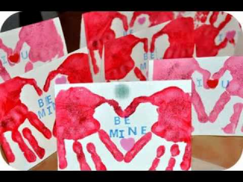 Easy DIY valentine day craft ideas for kids - YouTube