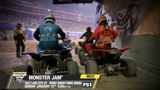 Monster Jam in Salt Lake City   Sunday January 15th on FS1