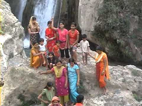 Bhatta Fall The Family Picnic Spot Near Mussoorie Uttranchal India Youtube
