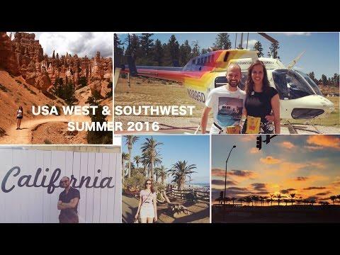 USA Summer 2016 West & Southwest  - Travel video