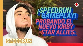 Speedrun 21/03: ¡GAMEPLAY! Probando Kirby Star Allies