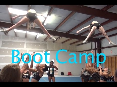 Cheer Extreme INSIDE LQQK at Worlds Boot Camp 2015