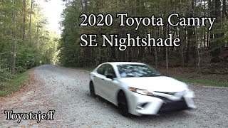 All-New 2020 Camry Nightshade Review - It's Cool!